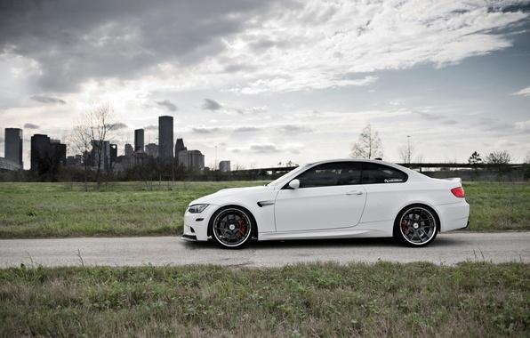 Картинка BMW, Белая, БМВ, Диски, White, E92, Strasse Wheels