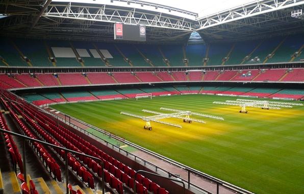Картинка Millennium, Стадион, Stadium, Уэльс, Кардиф, Миллениум, Wales, Cardiff