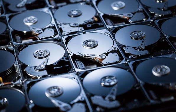 Картинка computer, hard drives, digital storage