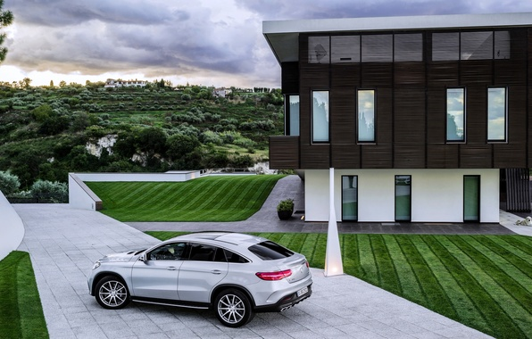 Картинка Mercedes, мерседес, AMG, Coupe, амг, бенц, 2015, C292, GLE 63