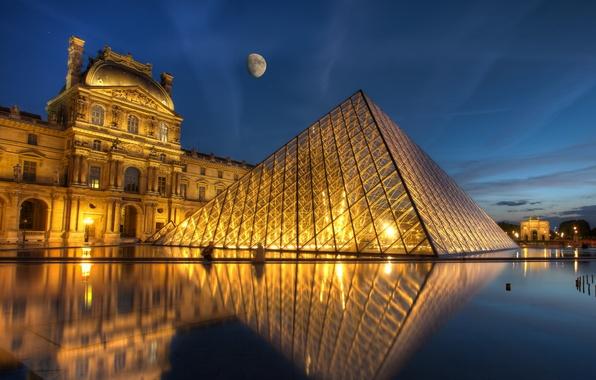 Картинка Paris, France, Louvre, Ile-de-France