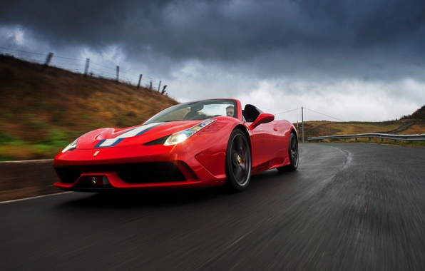 Картинка Ferrari, феррари, 458, 2014, Speciale A