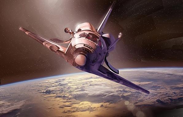 Обои корабль, земля, шаттл, Дискавери, транспортный, НАСА ...: https://www.goodfon.ru/wallpaper/diskaveri-shattl-mnogorazovyy.html