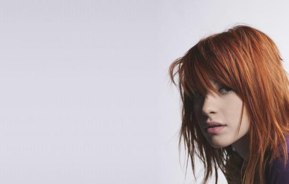 Картинка девушка, музыка, music, певица, рыжая, girl, paramore, hayley williams, фотосет, хейли уильямс, pop-rock, поп-рок
