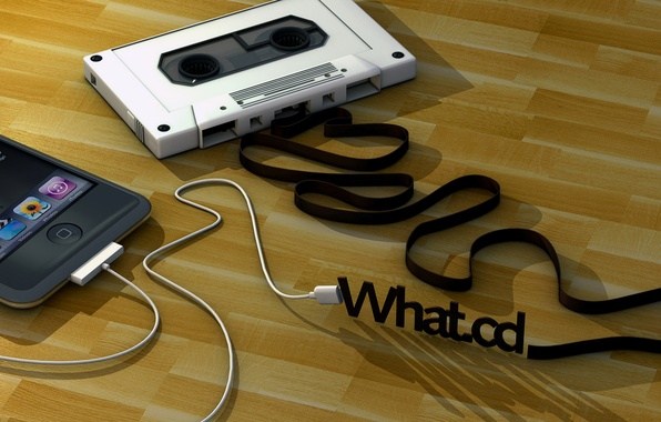 Картинка абстракция, ретро, музыка, арт, пленка, телефон, мобильный, кассета, аудиокассета, wallpaper., technology, communication, tape, generations, cassette