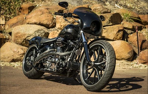 Картинка дизайн, стиль, мотоцикл, байк