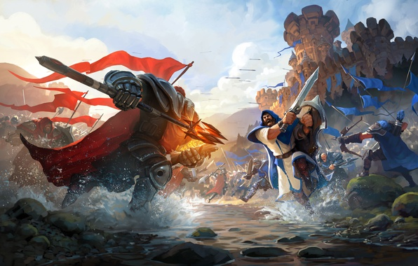 Картинка Game, Battle, Albion Online