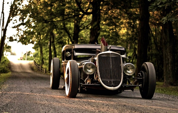 Car wallpapers hot rod ford model a 1930 beautiful automobile