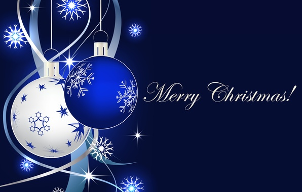 Картинка украшения, шары, Новый Год, Рождество, Christmas, balls, blue, New Year, decoration