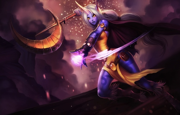 Картинка League of Legends, Support, Сорака, Лига Легенд, Soraka