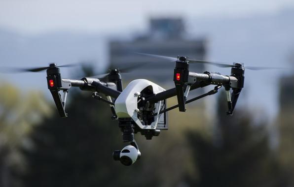 Картинка полет, беспилотник, дрон, квадрокоптер