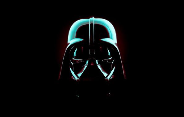 Картинка цвета, стиль, кино, маска, star wars, Darth Vader, звёздные войны, дарт вейдер