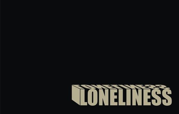 Картинка одиночество, черный, loneliness