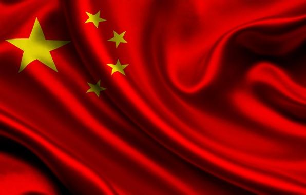 Картинка китай, флаг, china
