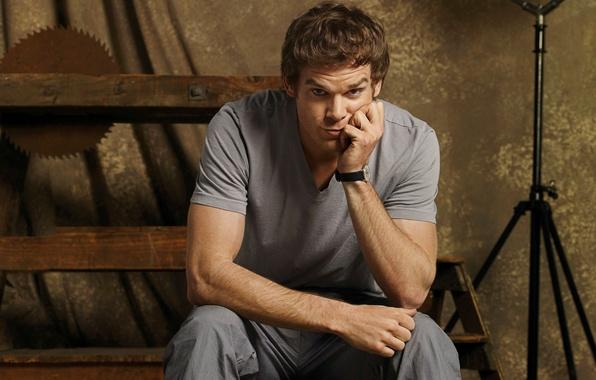 Картинка взгляд, актер, мужчина, Dexter, сериал, Декстер, Майкл С. Холл, Michael C. Hall, Правосудие Декстера