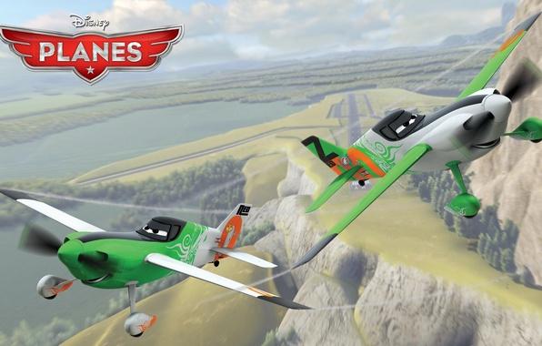 Картинка мультфильм, крылья, приключения, rally, wings, Walt Disney, анимация, action, Уолт Дисней, adventure, air race, воздушные …