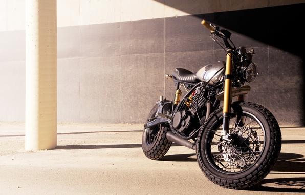 Картинка модель, мотоцикл, класс, кастом, custom, ямаха, кастомайзинг, yamaha sr542, Cafe Racer, Deus Ex Machina