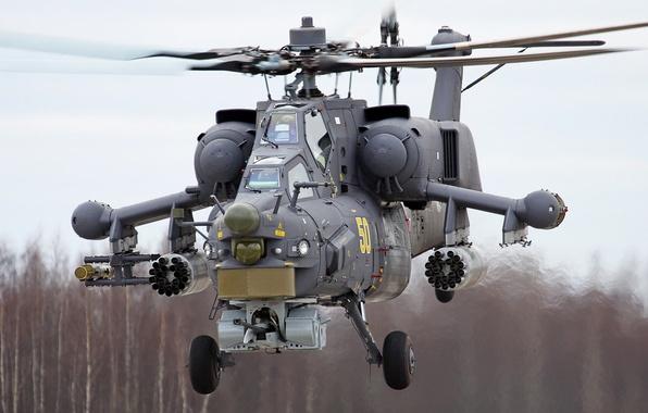 Картинка вертолет, Ми-28Н, ударный