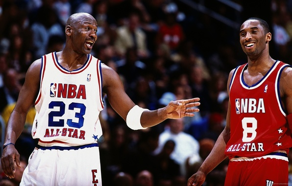 Картинка Баскетбол, Michael Jordan, NBA, Майкл Джордан, НБА, Kobe Bryant, Basketball, Коби Брайант