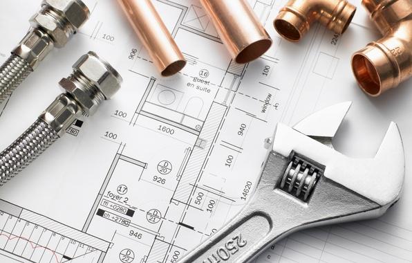Картинка metal, architecture, bronze, construction, engineering, pipes, hand tool
