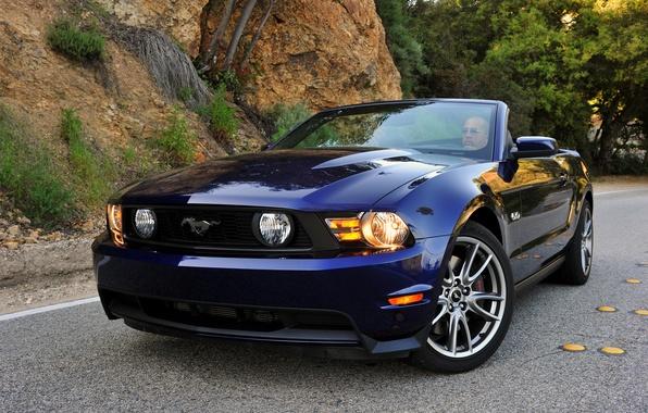 Картинка Mustang, Ford, мустанг, кабриолет, 2010, форд, Convertible