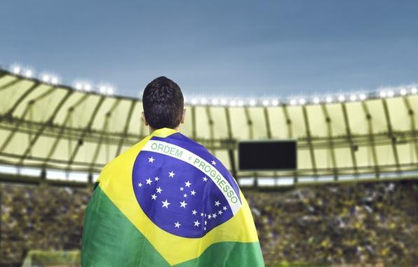 Картинка logo, football, flag, World Cup, Brasil, FIFA