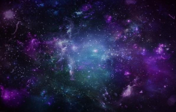 Картинка блики, звёзды, Космос, Dmitriy Ushakov Design, inside of space