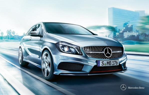 Картинка Mercedes-Benz, 2012, мерседес, A-class, w176