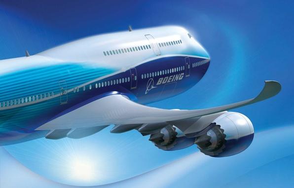 Картинка самолет, 787, Boeing