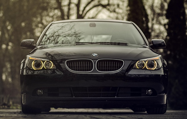 Картинка фары, BMW, БМВ, бампер, 520d