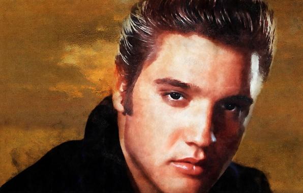 Картинка взгляд, актёр, музыкант, певец, Рок-н-ролл, Элвис Пресли, Elvis Presley