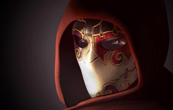 Как сделать маску джека из тени