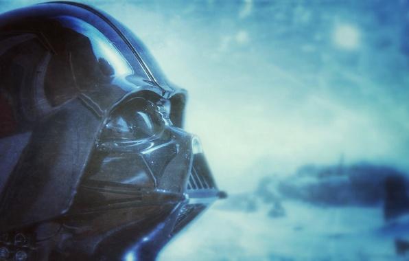 Картинка фон, Star Wars, шлем, Darth Vader, Дарт Вейдер