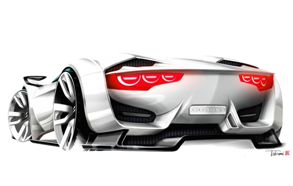 Картинка Concept, Citroen, Car, Wallpapers