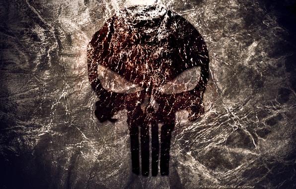 Картинка skull, logo, Punisher