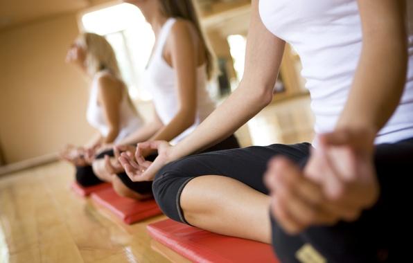 Картинка pose, yoga, sportswear, guided meditation
