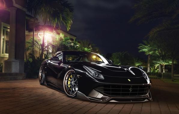 Картинка Ferrari, Front, Berlinetta, F12, Wheels, Exhaust, Capristo, Boutique, ADV.1, Systems, GmbH