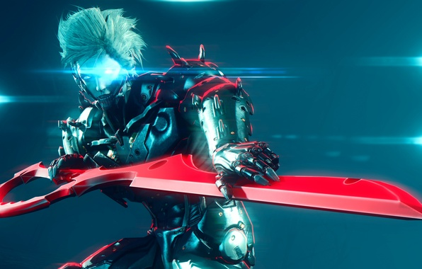 Картинка sword, Raiden, Metal Gear Rising: Revengeance, platinum games