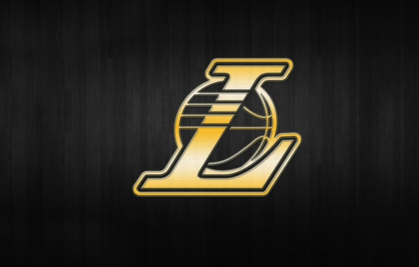 Картинка Фон, Логотип, Золото, Los Angeles, NBA, Lakers