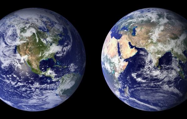 Картинка water, land, planet, Africa