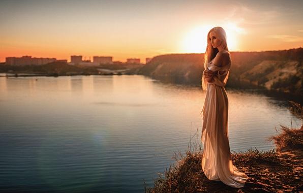Платья с закатами солнца