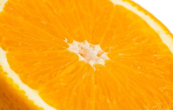 Картинка макро, оранжевый, апельсин, фрукт, цитрус