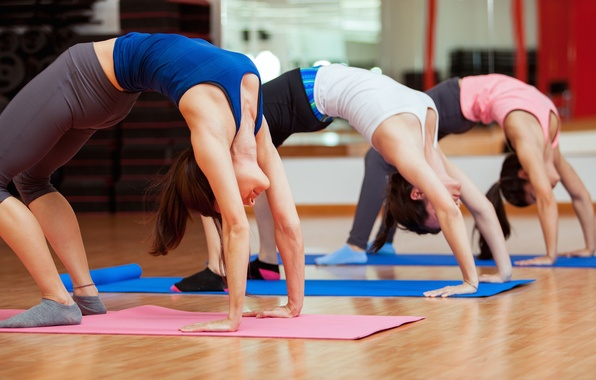 Картинка pose, group, workout, yoga, class