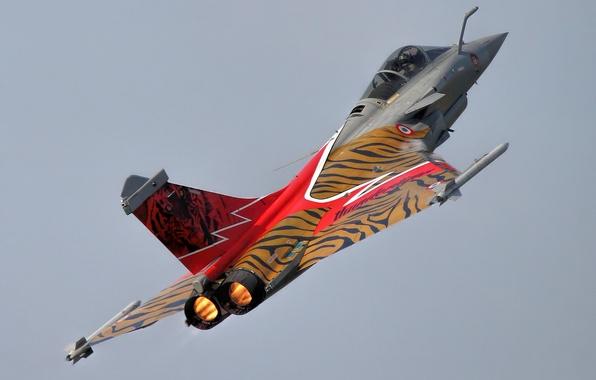 Картинка истребитель, многоцелевой, Dassault Rafale, «Рафаль»