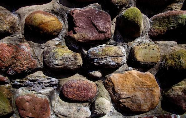 Картинка стена, камень, цвет, кладка