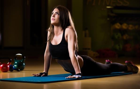 Картинка pose, yoga, posture, elongation