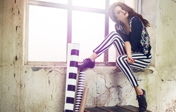 Картинка модель, актриса, брюнетка, красотка, Selena Gomez, Селена Гомез