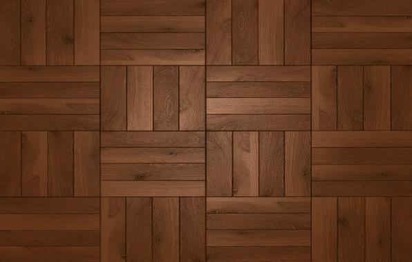 Картинка wood, square, floor, dark brown shades