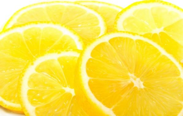 Картинка жёлтый, плоды, фотографии, цитрус, фрукты, лимоны