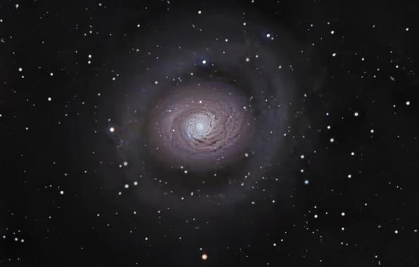 Картинка галактика, спиральная, в созвездии, Гончих Псов, M 94